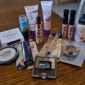 Bulk makeup- Maybelline, Rimmel,Face of Australia